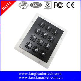 Liquid Proof Panel Mount Keyboard Numerical Keypad For Security Door