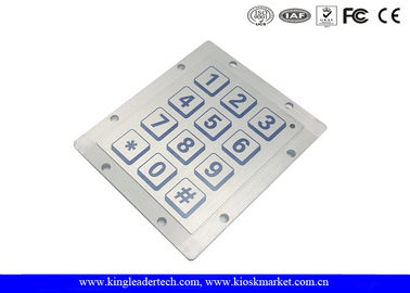 IP68 Hyper Ruggedized Piezo Keypad , Ideal For Use In Rough Enviroments