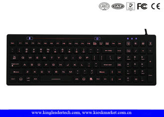 Durable Industrial Waterproof Keyboard , Blue or Customized Backlight