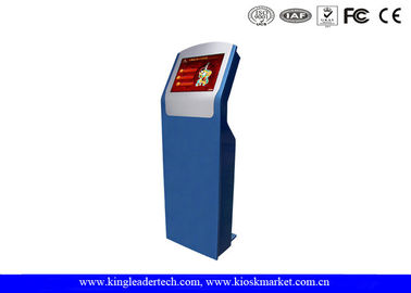 Vandal-Proof Modern Design Freestanding Touch Screen Kiosk With SAW Touch