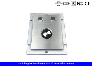 Kasar Panel-mount 38mm Optical Logam Trackball Industri Pointing Device
